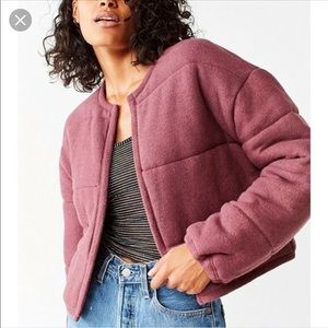 Out from under Allie quilted puffer cardigan